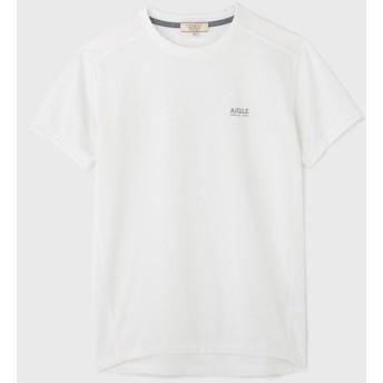 AIGLE メンズ メンズ 吸水速乾 プリマロフト クルーネック 半袖Tシャツ ZTH041J LISERON (001) Tシャツ