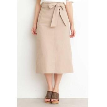 PROPORTION BODY DRESSING プロポーションボディドレッシング ユニオンテックツイルロングスカート