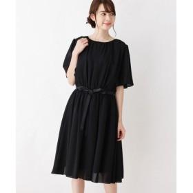 grove / グローブ ギャザードレープドレス