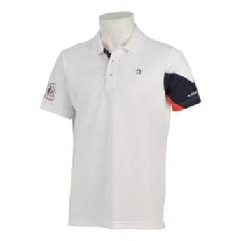 【SALE】Munsingwear(マンシングウェア)袖カラー切り替えクーリスト半袖シャツ(19SS)MGMNJA31※返品交換不可※