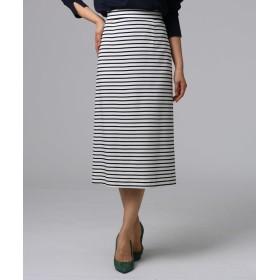 UNTITLED/FAIRY SHADE(フェアリーシェード) グログランボーダースカート