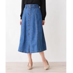 SHOO・LA・RUE / シューラルー デニム前ボタンスカート