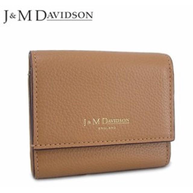 【2019春夏新作】 J&M DAVIDSON レディース  3つ折財布/サイフ TWO FOLD WALLET 10149 7470 6510