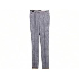 【中古】 ブラックレーベルクレストブリッジ パンツ サイズ76 メンズ 美品 白 ダークネイビー
