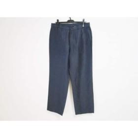 【中古】 アルマーニコレッツォーニ ARMANICOLLEZIONI パンツ サイズ50 M メンズ ダークネイビー