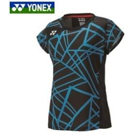 09ba5446c7d6f2 YONEX/ヨネックス 20416 テニス・バドミントンウェア(レディース) ウィメンズ ゲームシャツ007 ブラック