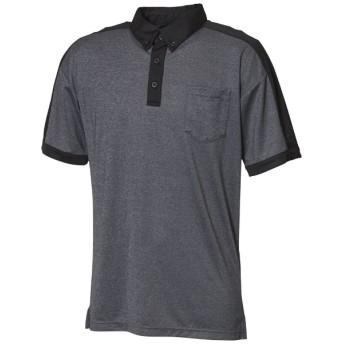 トレーニングウェア S2S TEROTERO ポロシャツ メンズ Mサイズ (ダークグレイヘザー) FTL42