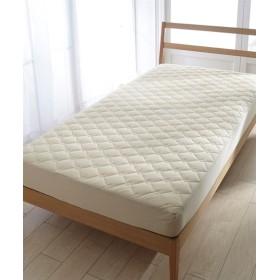 吸汗速乾ドライニット 敷布団にも使えるボックスシーツ型敷パッド 敷きパッド・ベッドパッド