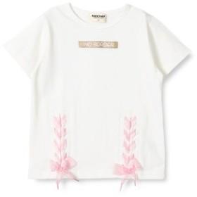 ブランシェス(branshes)/裾編み上げTシャツ