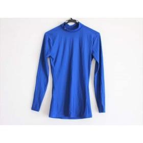 【中古】 アンダーアーマー UNDER ARMOUR 長袖Tシャツ メンズ ブルー ハイネック