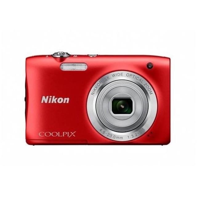 COOLPIX コンパクトデジタルカメラ/S2900 レッド