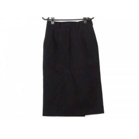 【中古】 マーガレットハウエル MargaretHowell ロングスカート サイズ1 S レディース 黒