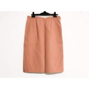 【中古】 レリアン Leilian スカート サイズ13 L レディース ピンク