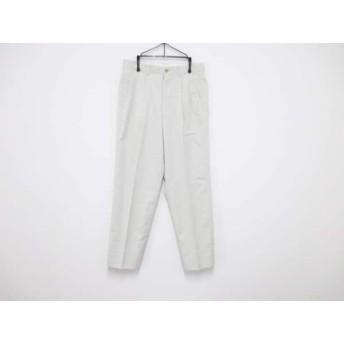 【中古】 バーバリーズ Burberry's パンツ サイズ76 メンズ 美品 ライトグリーン
