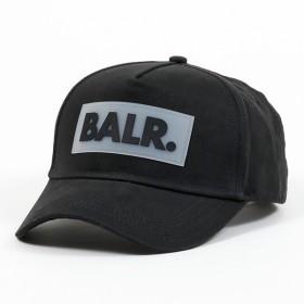 0eefc2438b1bc ボーラー Rubber Box Logo Cap ベースボールキャップ 帽子 コットン ラバーロゴ Black メンズ