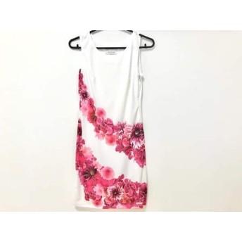 【中古】 レディ Rady ワンピース サイズS レディース 白 ピンク パープル 花柄