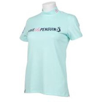 【SALE】Munsingwear(マンシングウェア)WWFコラボハイネック半袖シャツ(19SS)MGWNGA09※返品交換不可※
