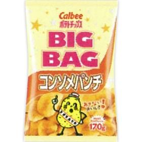 カルビー ポテトチップス ビッグバッグ コンソメパンチ 170g