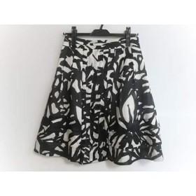 【中古】 ボディドレッシングデラックス BODY DRESSING Deluxe スカート サイズ36 S レディース 黒 白