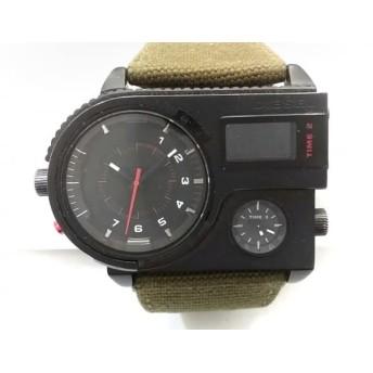 【中古】 ディーゼル DIESEL 腕時計 DZ-7206 メンズ 黒