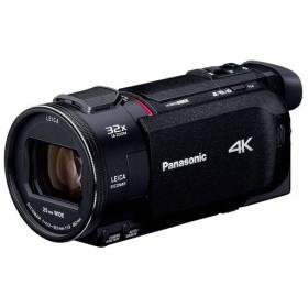 【新品(開封のみ・箱きず・やぶれ)】 Panasonic デジタル4Kビデオカメラ HC-WXF1M-K ブラック