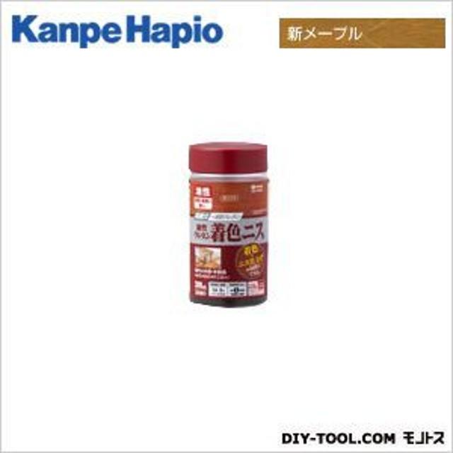 カンペハピオ 油性ウレタン着色ニス 新メープル 300ML ニス ステイン 塗料 オイルステイン