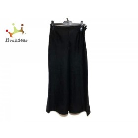レキップ ヨシエイナバ L'EQUIPE YOSHIE INABA ロングスカート サイズ9 M レディース 美品 黒     スペシャル特価 20190801