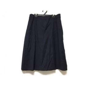 【中古】 オールドイングランド OLD ENGLAND スカート サイズ38 M レディース ネイビー