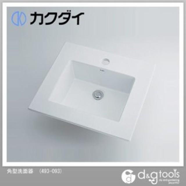 カクダイ 角型洗面器   493-093
