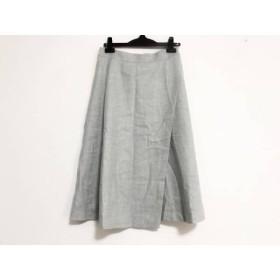 【中古】 ニジュウサンク 23区 スカート サイズ38 M レディース ライトグレー