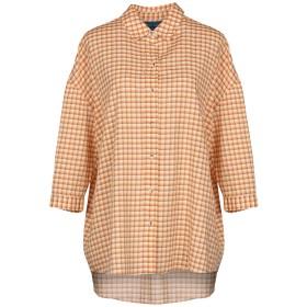《セール開催中》M.I.H JEANS レディース シャツ オレンジ XS コットン 62% / テンセル 38%