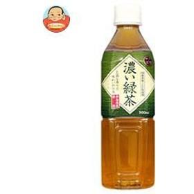 【送料無料】富永貿易 神戸茶房 濃い緑茶 500mlペットボトル×24本入