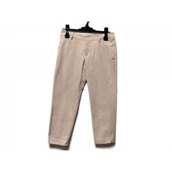 【中古】 スタニングルアー STUNNING LURE パンツ サイズ0 XS レディース ベージュ 七分丈