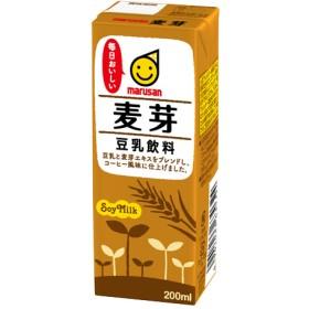 マルサン 豆乳飲料 麦芽 (200mL12本入)