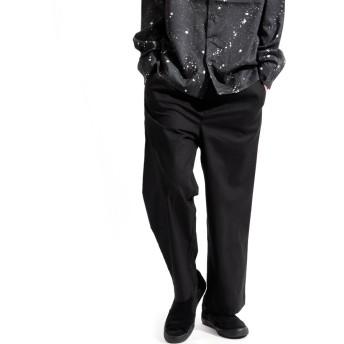 その他パンツ・ズボン - Valletta 【Valletta】TRストレッチワイドパンツ[917-006]ワイドパンツ スポーツ ストレッチ スラックス スウェットパンツ ガウチョパンツ ガウチョ イージーパンツ パンツ アスレジャーメンズ カジュアル ストリート スポーツ モ