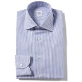 Maria Santangelo / ブルーストライプ ワイドカラーシャツ メンズ ドレスシャツ LT. BLUE/13 41