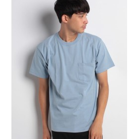 【10%OFF】 ジーンズメイト BEEFY-T ポケットTシャツ メンズ ライトブルー L 【JEANS MATE】 【タイムセール開催中】