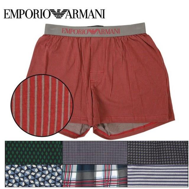 アルマーニ トランクス メンズ パンツ ブランド 下着 PATTERN MIX EMPORIO ARMANI エンポリオアルマーニ
