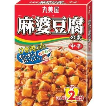 丸美屋食品工業 丸美屋 麻婆豆腐の素 中辛 162g