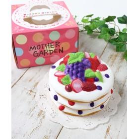 【オンワード】 Mother garden(マザーガーデン) マザーガーデン やわらかフルーツパンケーキ 柔らかおもちゃ MGスクイーズ 0 - キッズ