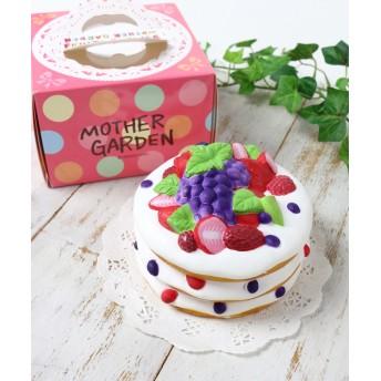 【オンワード】 Mother garden(マザーガーデン) MGスクイーズ やわらかフルーツパンケーキ 柔らかおもちゃ 0 - キッズ