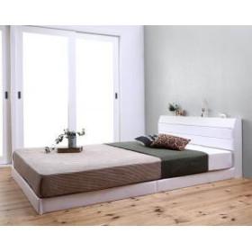 日本製 シングル Familiena ファミリーナ 親子で寝られる棚 シングル敬老の日 コンセント付きレザー連結ベッド 500029246