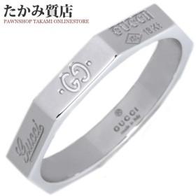 7af5eb1b2b46 グッチ 指輪 リング メンズリング K18WG オクタゴナル ウェディングリング GUCCI8リング #20 19号