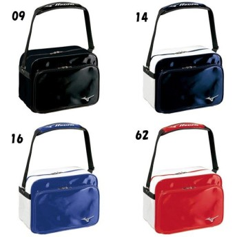 ミズノ 野球 エナメルショルダー バッグ 小型セカンドバッグ 1FJD6024