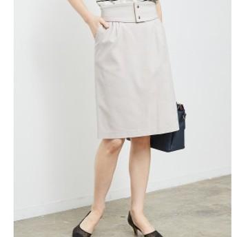 ROPE' PICNIC ベルト付きタイトスカート