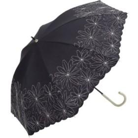 晴雨兼用日傘/マーガレット刺繍