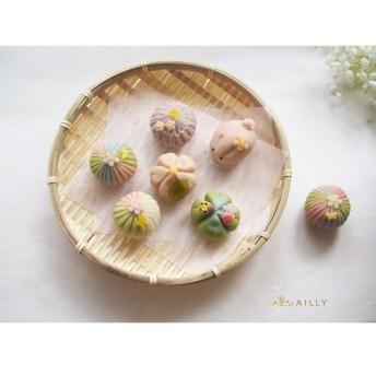 卵乳小麦不使用 無添加上生菓子 練り切り製【桜舞】 6個詰め合わせ