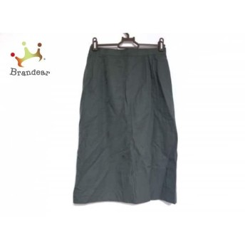 バーバリーズ Burberry's ロングスカート レディース 美品 グリーン スペシャル特価 20190805