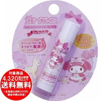 マイメロディ リップクリーム 恋するピンクチェリーの香り 日本製 [f]