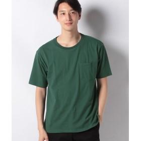 【25%OFF】 ジーンズメイト ドロップショルダーTシャツ メンズ ダークグリーン M 【JEANS MATE】 【セール開催中】